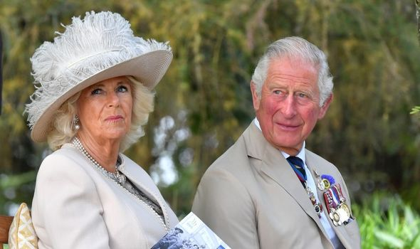 Prince Charles and Camilla attend royal engagement