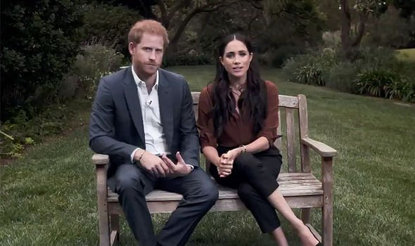Prince Harry's comments were made in a 'personal capacity' according to Buckingham Palace