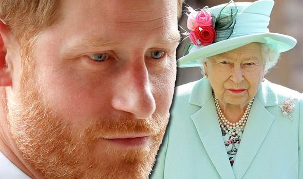 Prince Harry snub: Harry and the Queen