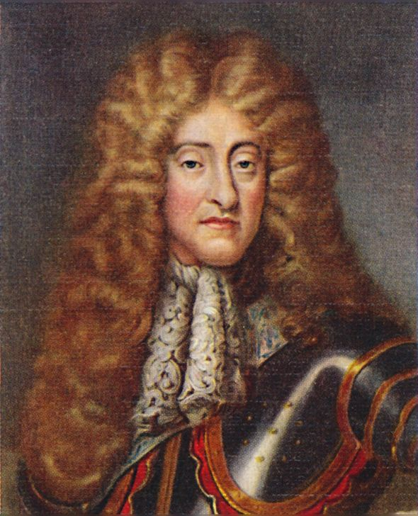 Prince William title: James II