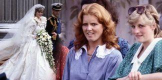Princess Diana, Sarah Ferguson and Charles