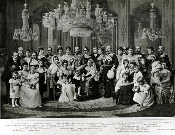 Princess Eugenie title: Queen Victoria family portrait