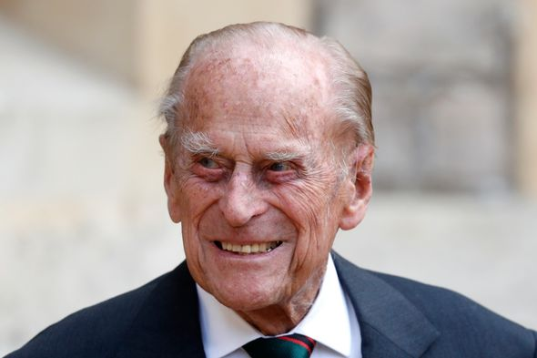 Queen and Prince Philip: Philip