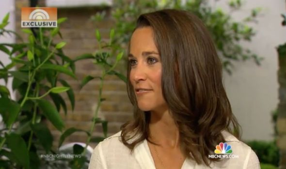 Royal interview: Pippa gave her first ever TV interview in 2014 to NBC News