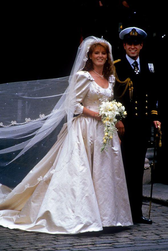Sarah Ferguson's wedding to Prince Andrew