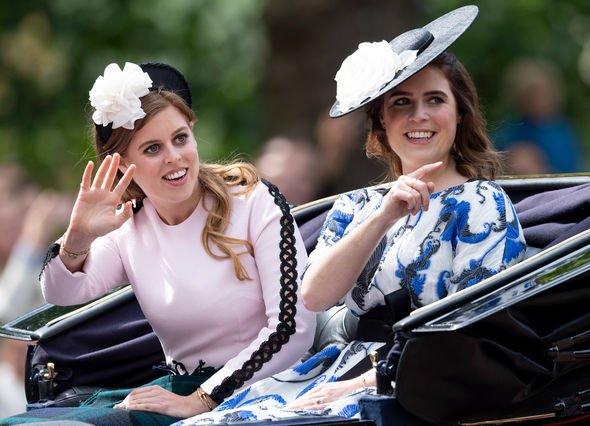 Sussex snub: Princess Beatrice and Princess Eugenie