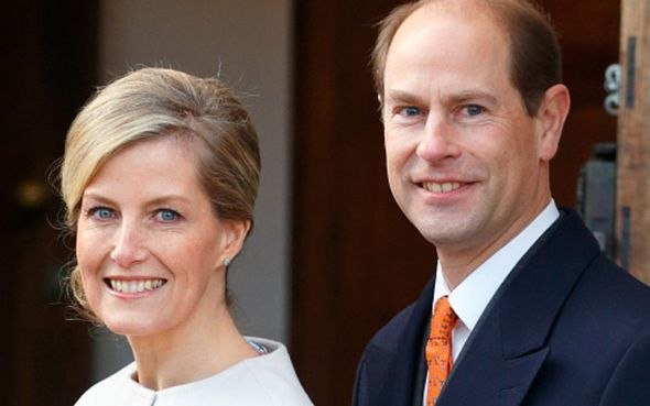 prince edward sophie wessex news royal family