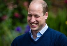 Prince William joy: William