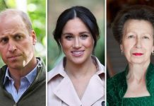 prince william meghan markle princess anne