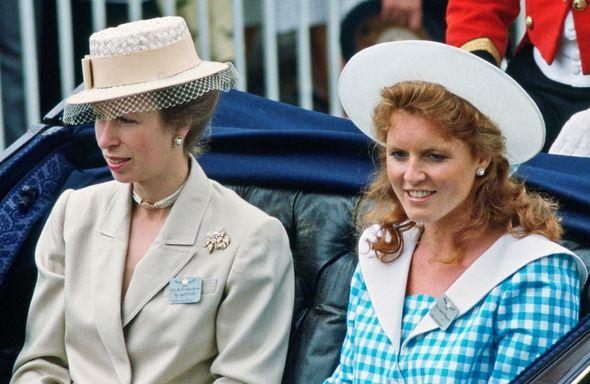 princess anne news sarah ferguson fergie latest
