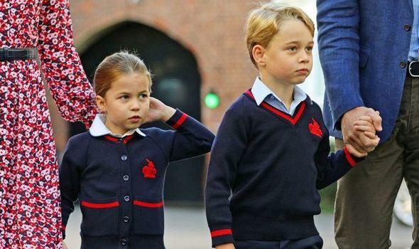 princess charlotte news prince george back to school