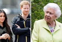 Meghan Markle, Prince Harry and Queen Elizabeth II