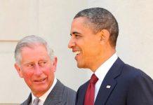 Prince Charles and Barack Obama