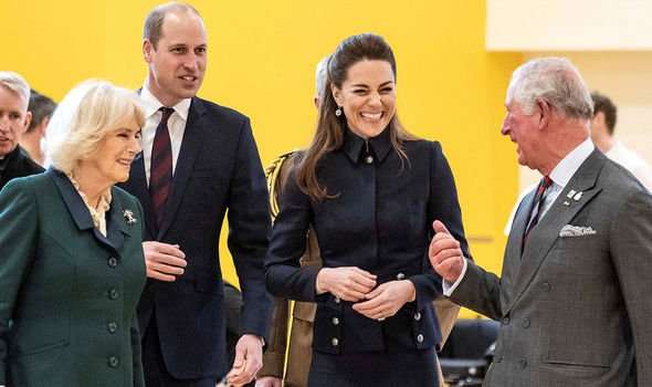 Prince william kate middleton prince charles camilla parker bowles
