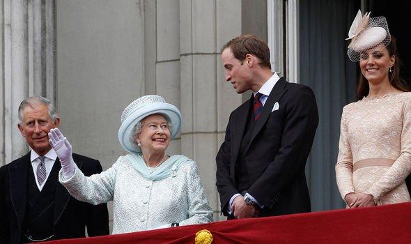 prince charles queen elizabeth ii prince william kate middleton