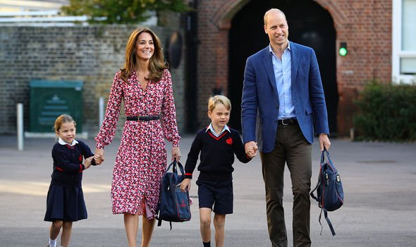 William's eldest Prince George will inherit the throne after him