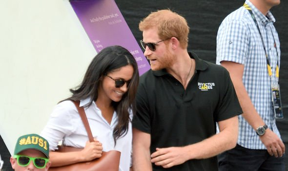 Meghan and Harry first appeared as a couple at the Toronto Invictus Games in 2017