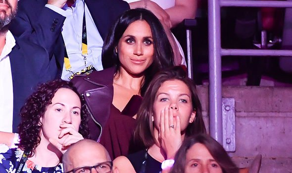 Meghan made a surprise appearance on the opening night of the 2017 Invictus Games