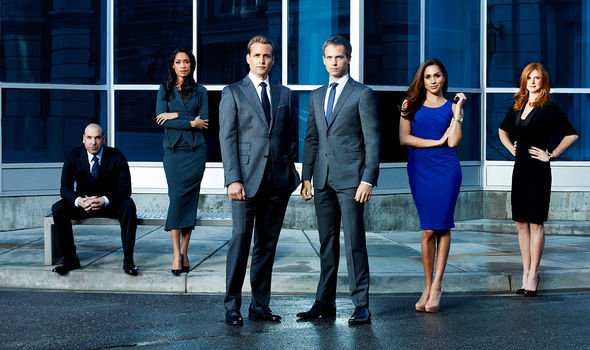 Meghan Markle played a paralegal in the US legal drama, Suits