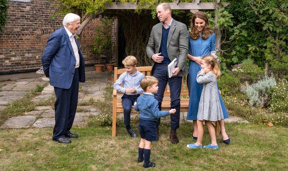 Cambridges Sir David Attenborough