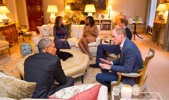 Kate Middleton news: The Obama's and the Royal family in Kensington Palace