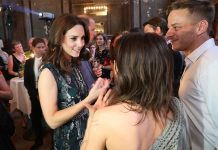 Kate met Game of Thrones actor Tom Wlaschiha in Germany in Photo C GETTY IMAGES