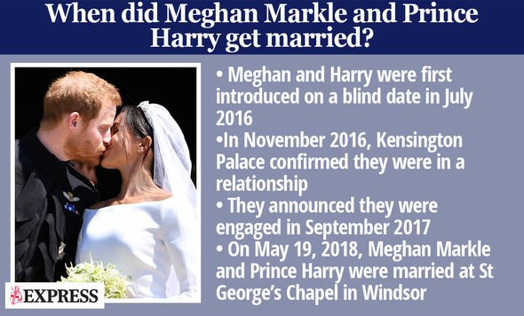 Meghan Markle and Prince Harry wedding fact box