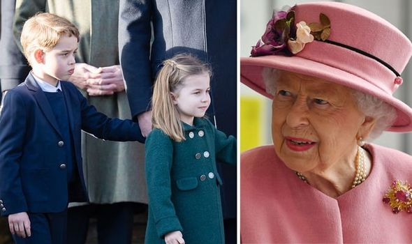 Prince George, Charlotte and Louis