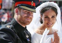 Prince Harry news: The Duke of Sussex and Meghan Markle at their royal wedding in 2018