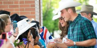Prince William Kate meeting fans