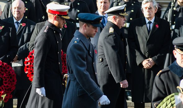 Prince Harry news: The Duke of Sussex at Remembrance Day 2018