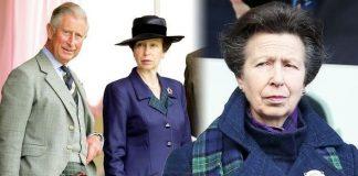 Princess Anne: Prince Charles body language