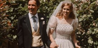 Princess Beatrice wedding letter Edoardo Mapelli Mozzi evg