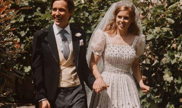 Princess Beatrice wedding letter Edoardo Mapelli Mozzi evg