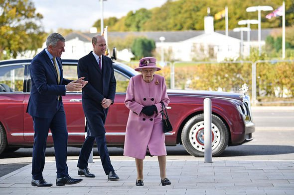 Royal clocks: The Queen
