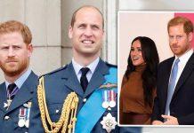 meghan markle news prince harry prince william rift relationship royal news