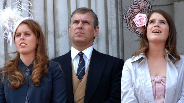 prince andrew news princess beatrice princess eugenie latest
