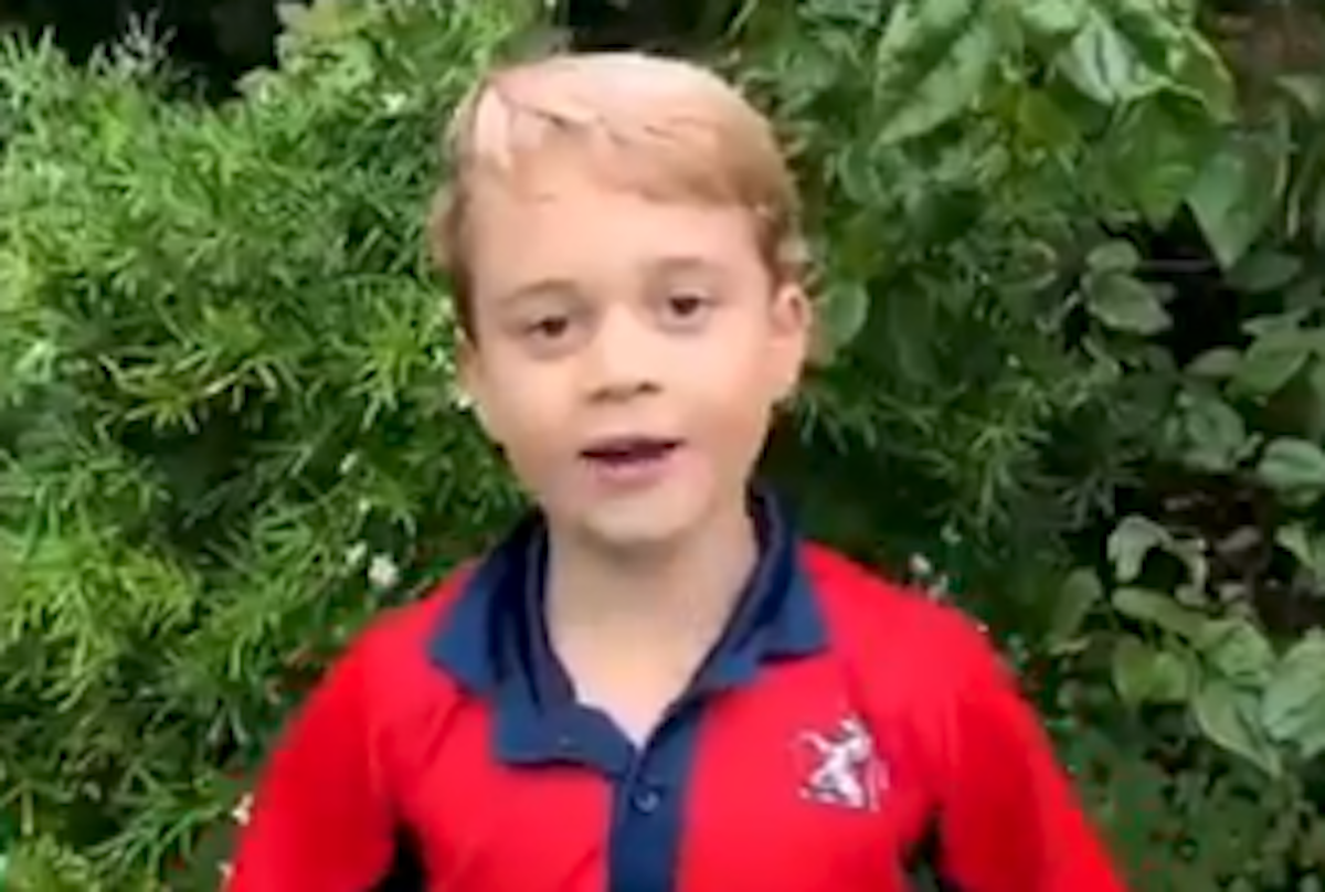 prince george video latest news
