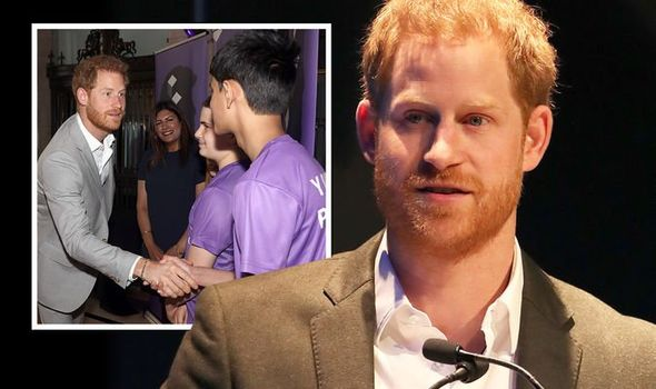 prince harry news diana awards tessy ojo cbe duke of sussex royal news