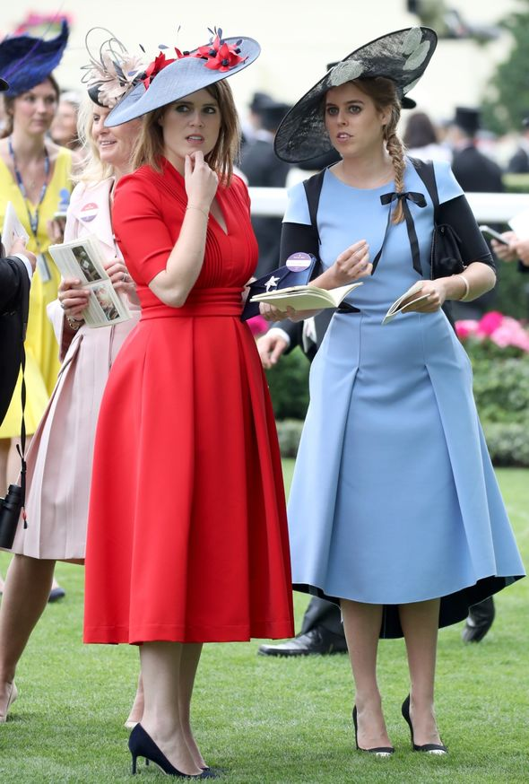princess beatrice news princess eugenie royal family latest