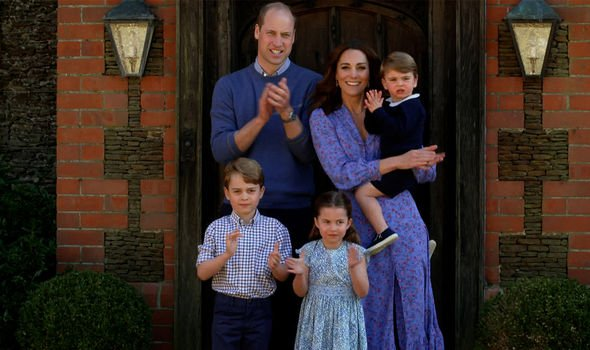 Princess Charlotte: Cambridge family