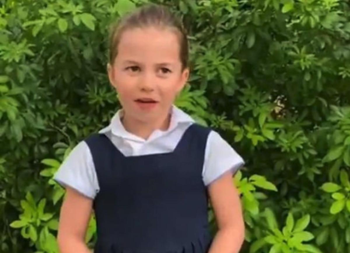 princess charlotte video latest news