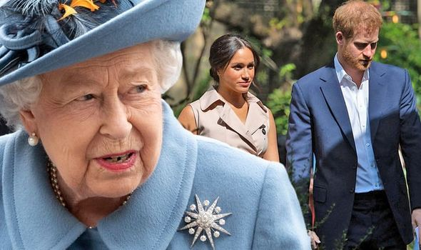 queen news prince harry meghan markle sussex title