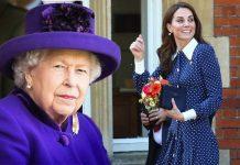 royal family: Kate Middleton and Queen Elizabeth