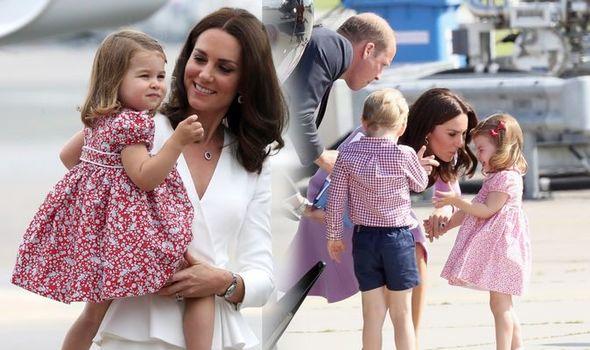 Kate Middleton and her children