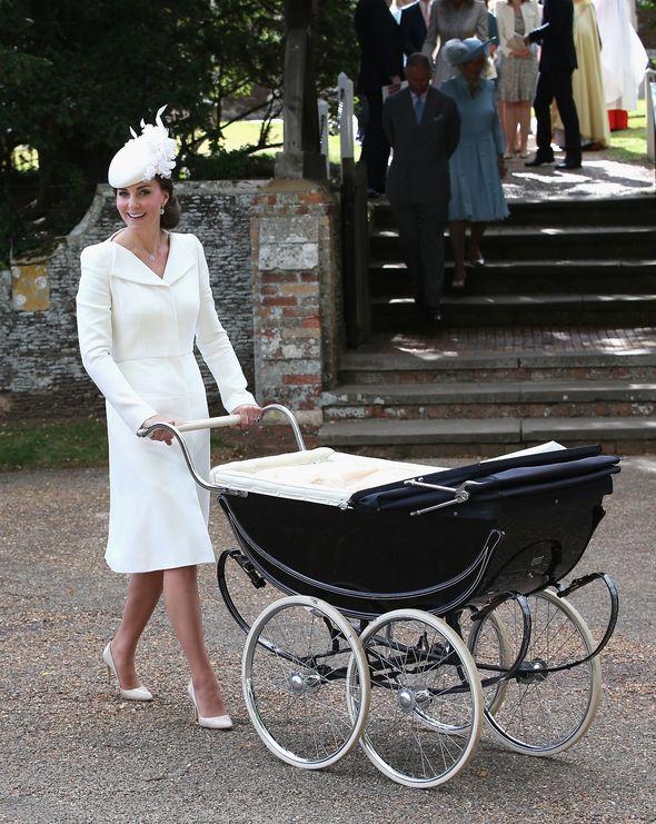 Kate Middleton's pram