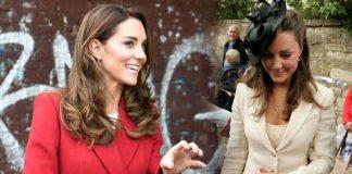 Kate Middleton wearing rings