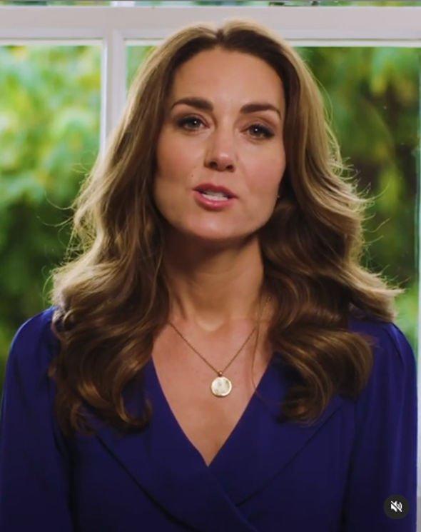 Kate Middleton wearing the Daniella Draper necklace