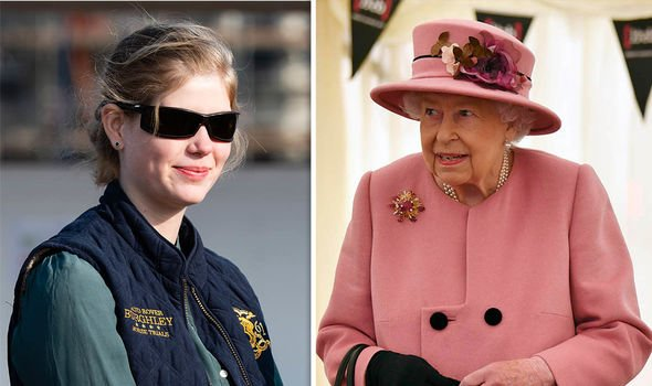 Lady Louise Windsor: Louise and Queen
