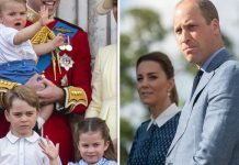 Prince George, Princess Charlotte and Louis